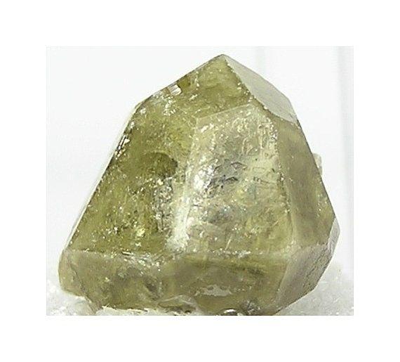 Olive Green Grossular Garnet Crystal Thumbnail by FenderMinerals,