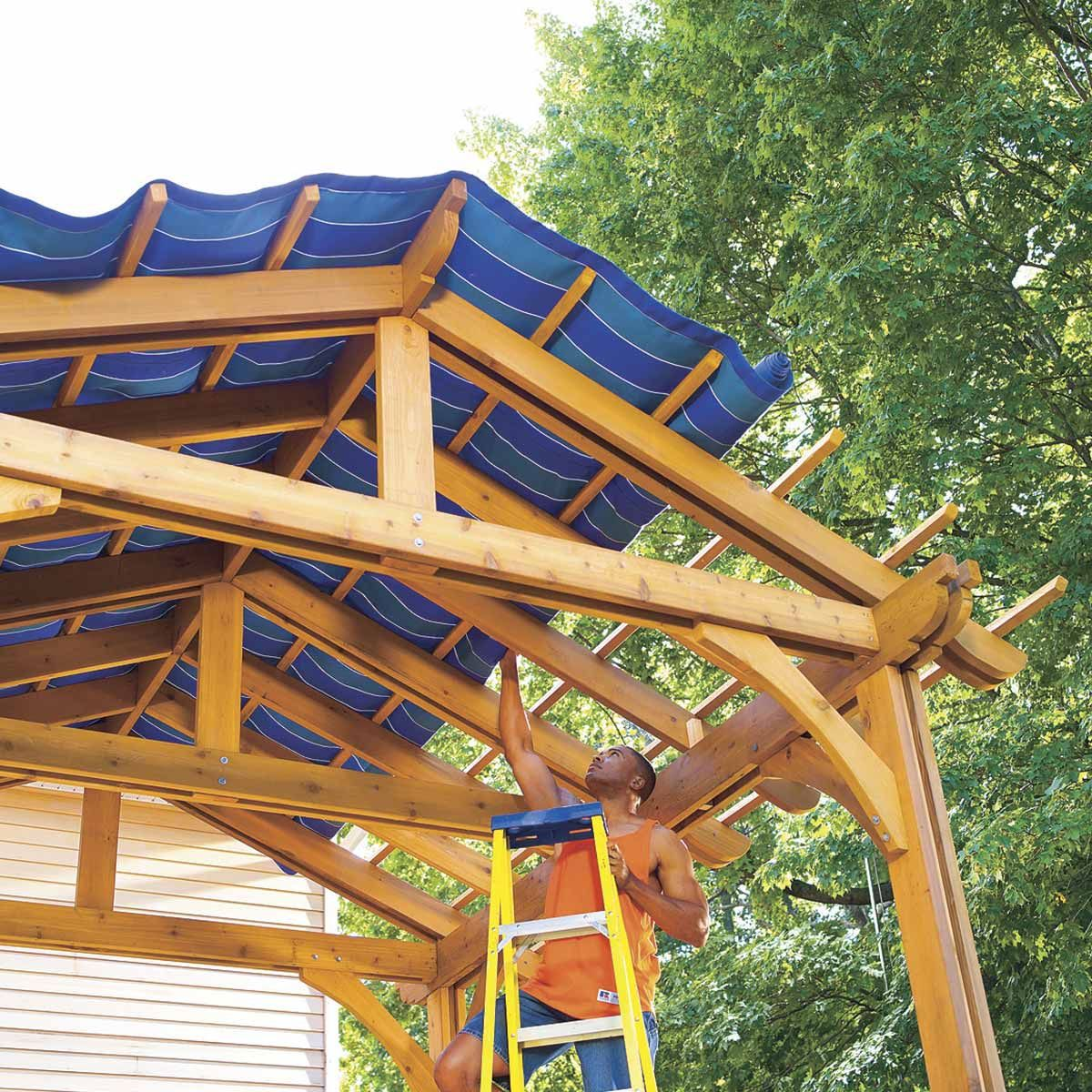 14 Diy Deck Add Ons That Are Seriously Cool Diy Deck Cool Deck Pergola