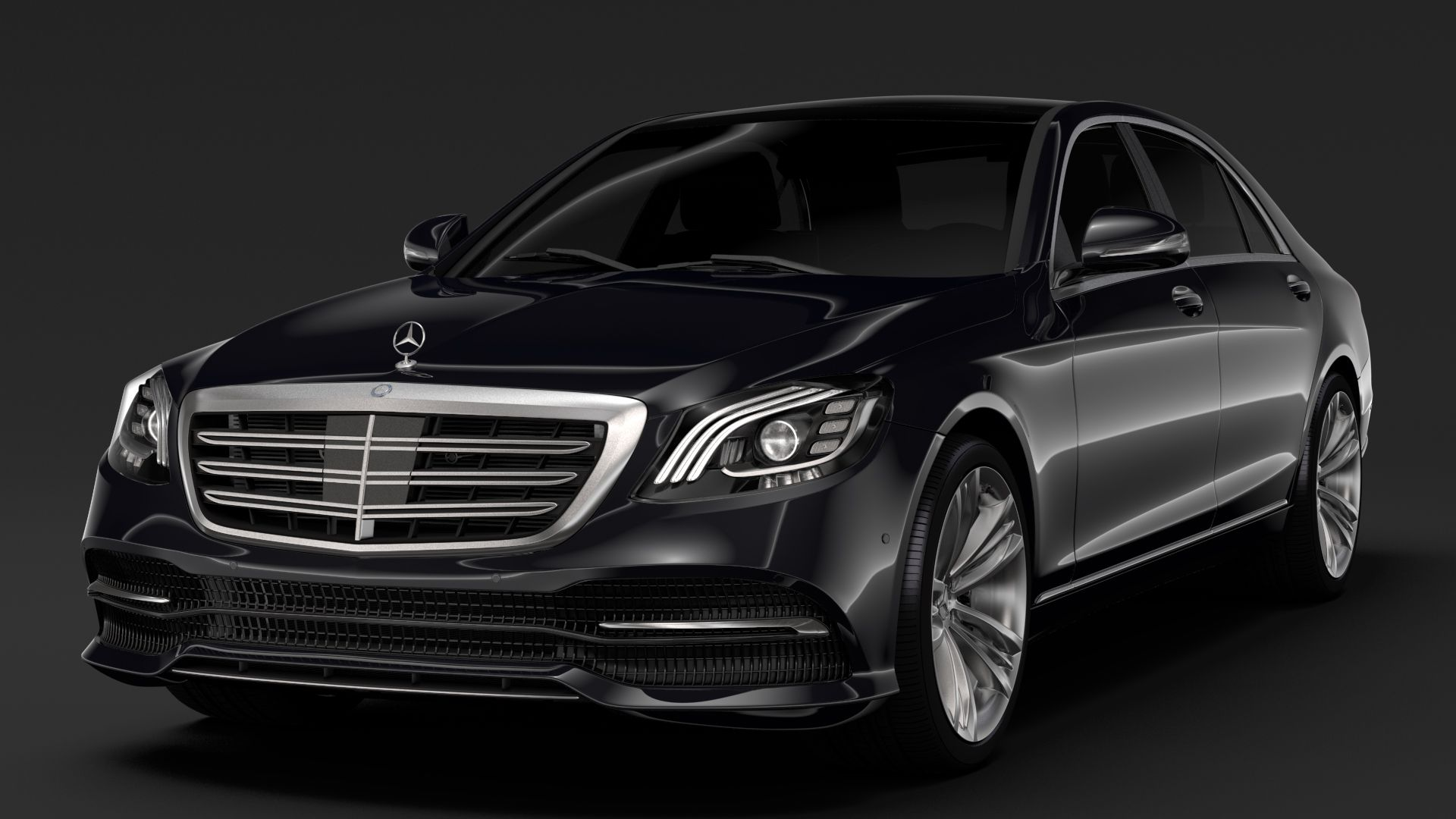 Mercedes Benz S 400 D Lang 4matic V222 2018 With Images