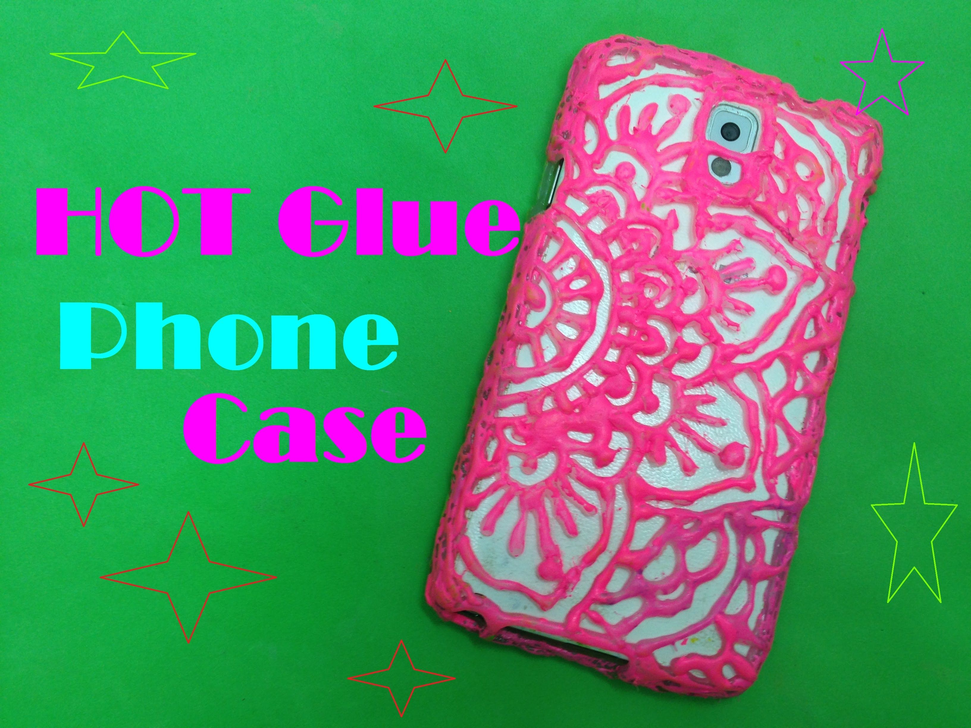 factory price f93ca 4f2dd How to Make Phone Case with Glue Guns | make the craft | Hot glue ...