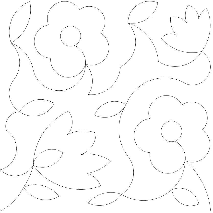30s flower light | patrones | Pinterest | Bordado, Patrones y Moldes