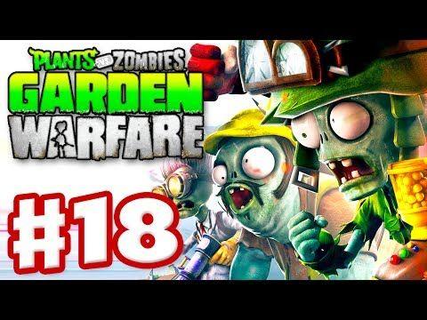 Plants Vs Zombies Garden Warfare Gameplay Walkthrough Part  Gardens Graveyards Xbox One