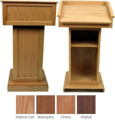 Podium Plans Amplivox Sn3020 Victoria Classic Raised Panel Lectern Without Sound