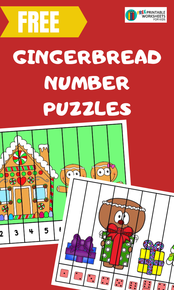 Page not found | Free Printable Worksheets For Kids Gingerbread Number Puzzle Strips | Free Printab