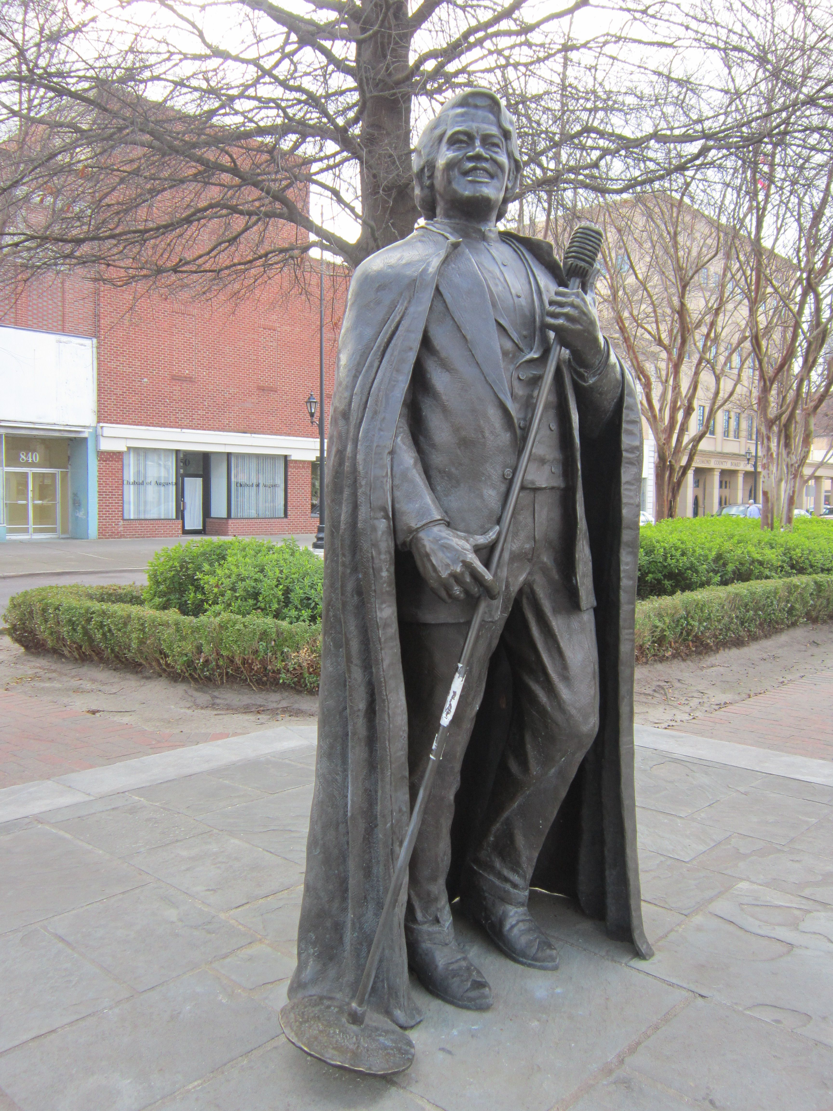James Brown Statue created by sculptor Dr
