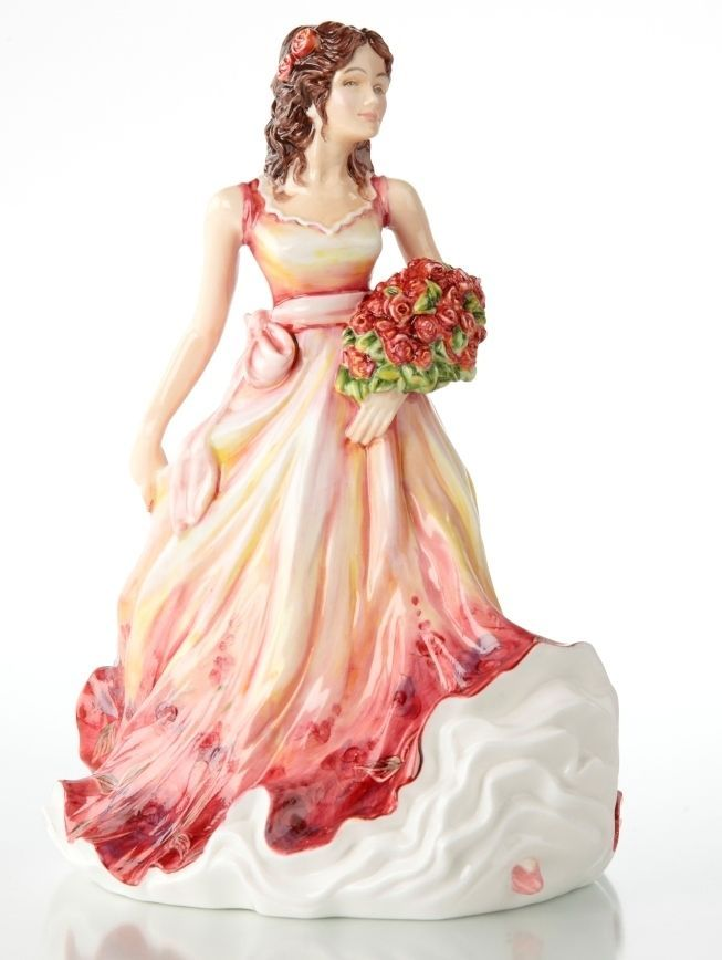 English Ladies The Lady of the Year China Figurine 2012 New in Box 18608