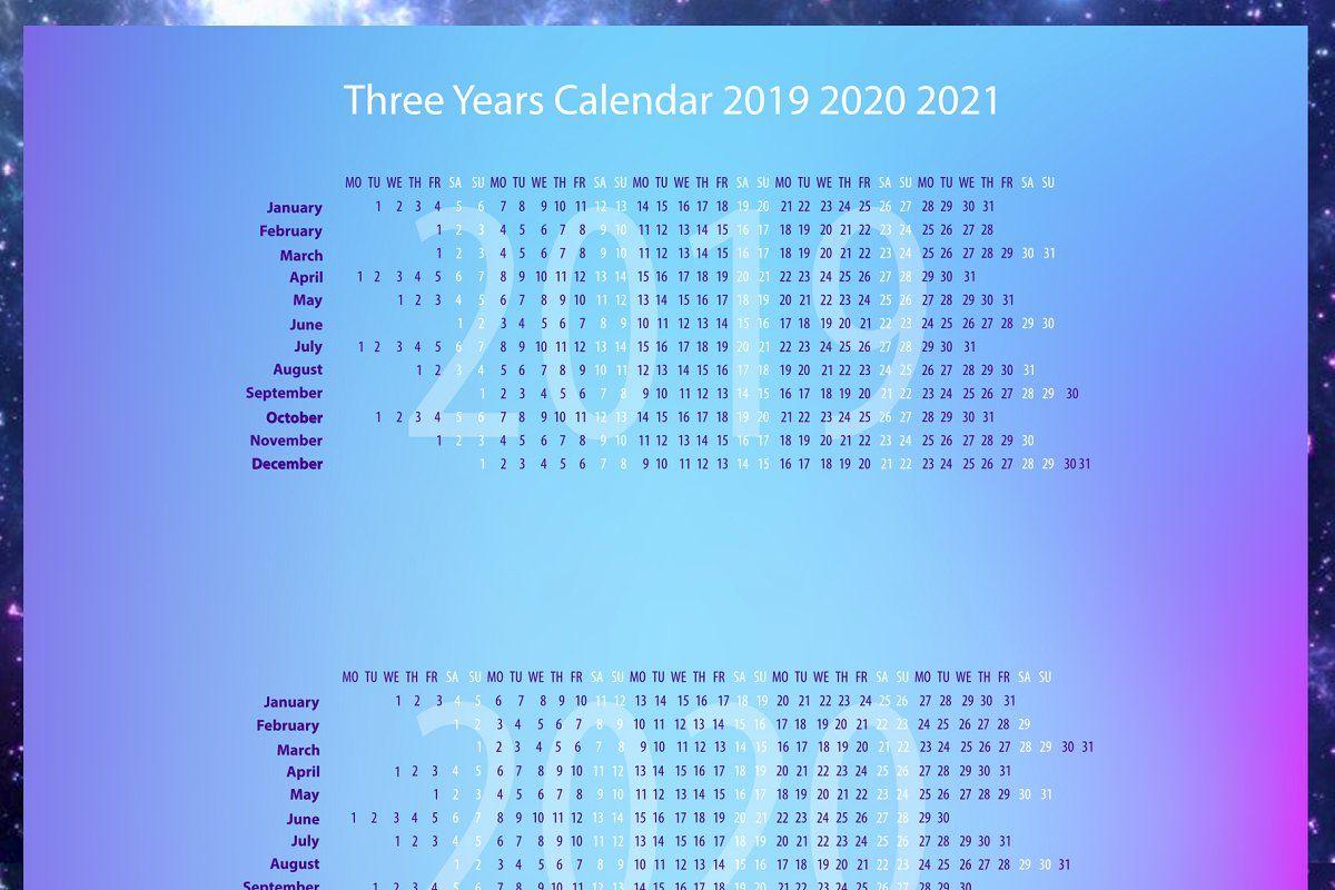 Zodiac Calendar 2019 2020 2021 Zodiac Calendar Unique Calendar
