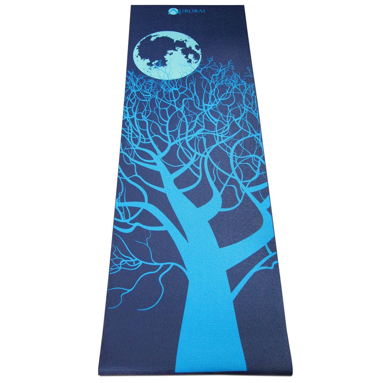 Aurorae northern lights impression yoga mats