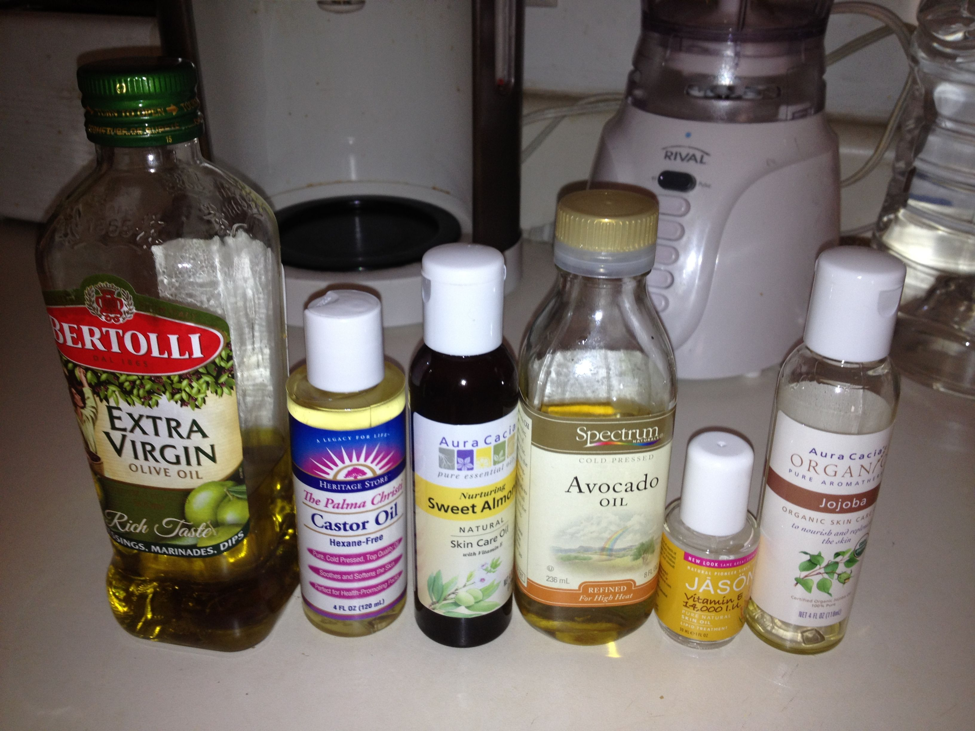 Home-made body oil  Use after shower  Replaces heavy baby oil  2 5oz