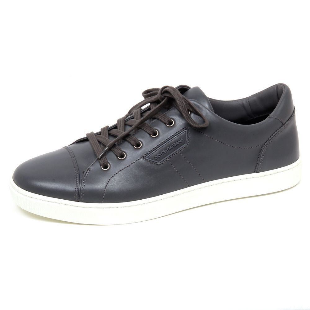 F0498 sneaker uomo dark grey DOLCE/&GABBANA D/&G scarpe shoe man