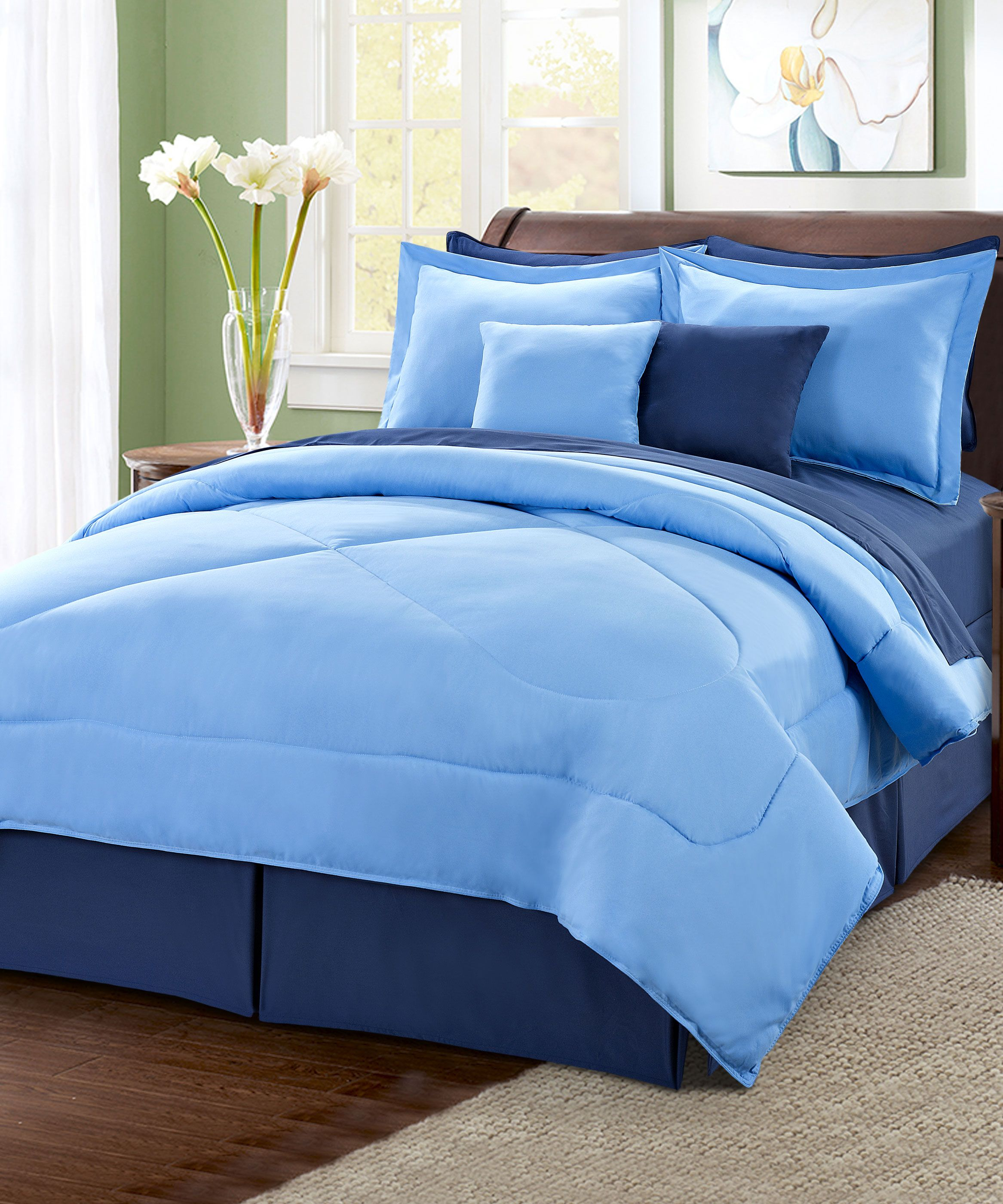 blue navy queen bed comforter ideas sets set comforters