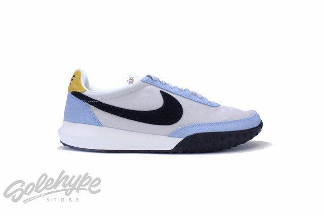 NIKE ROSHE WAFFLE RACER LIGHT BONE BLUE CAP 845089 003
