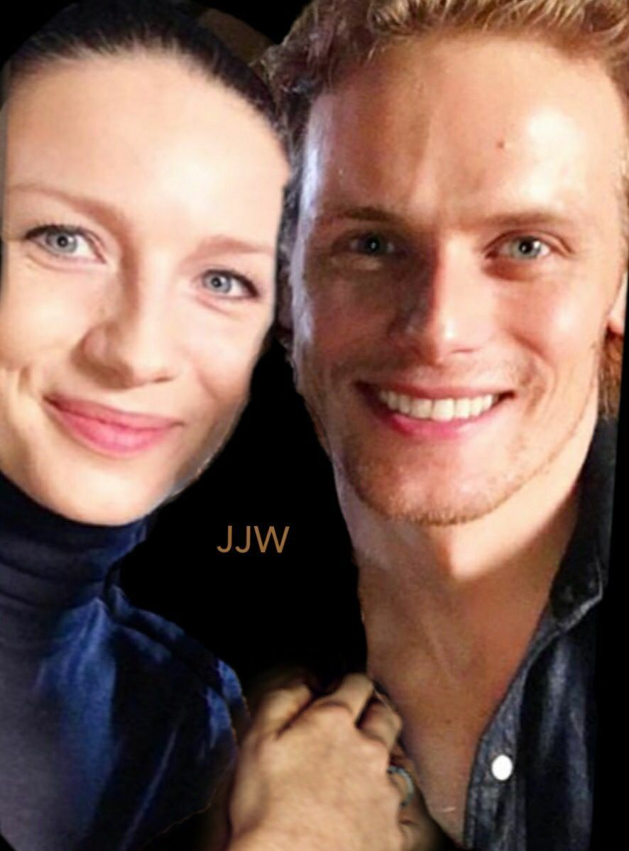 Pin by Rhona Kushner on Sam Heughan and Caitriona Balfe in