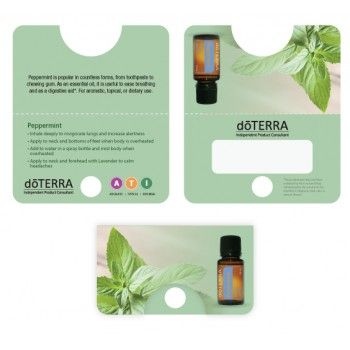 Doterra Sample Cards  Heal It    Doterra Essentials