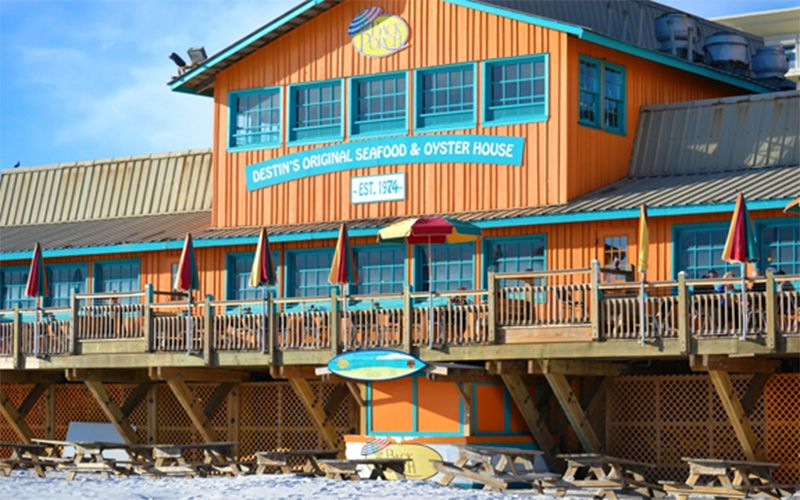 Destin Restaurant Guide The Back Porch Go Ahead And Break Out Of Your Usual Routine Try Something You Haven T Done Before Emerald Coast Offers