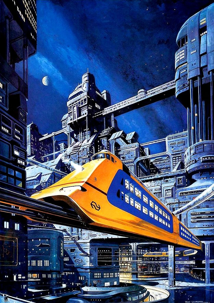Railway of the Future // Don Lawrence