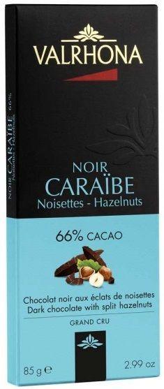 alrhona Noir Caraibe Noisettes - Hazelnuts... Μαύρη σοκολάτα με 66%…