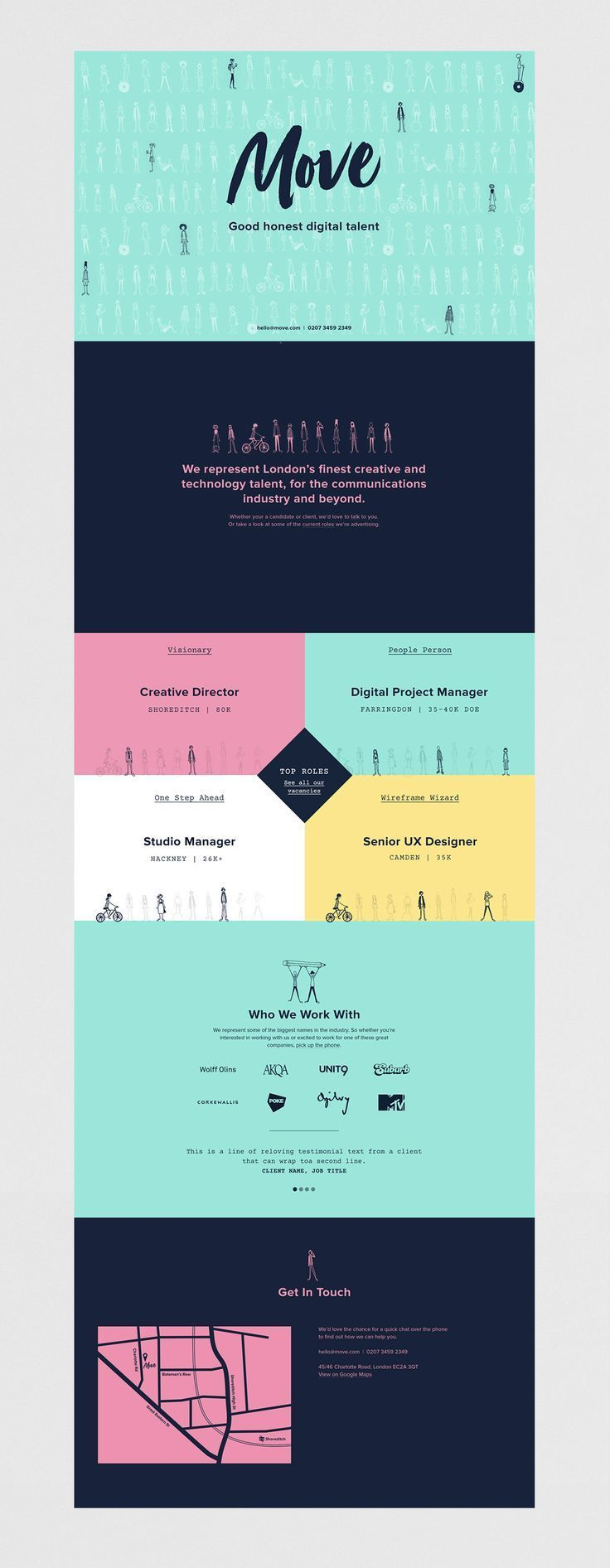Brand Strategy Visual Identity And Site Design For A Digital