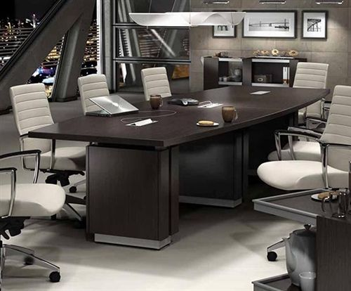 Global Zira Series 12 Boat Shaped Boardroom Table Z48144be Available With Power Office Furniture Online Office Furniture Solutions Office Furniture Modern