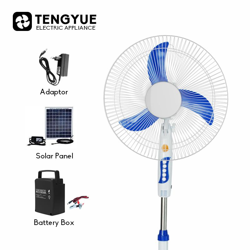 Time To Source Smarter Solar Panel Battery Stand Fan Standing Fans