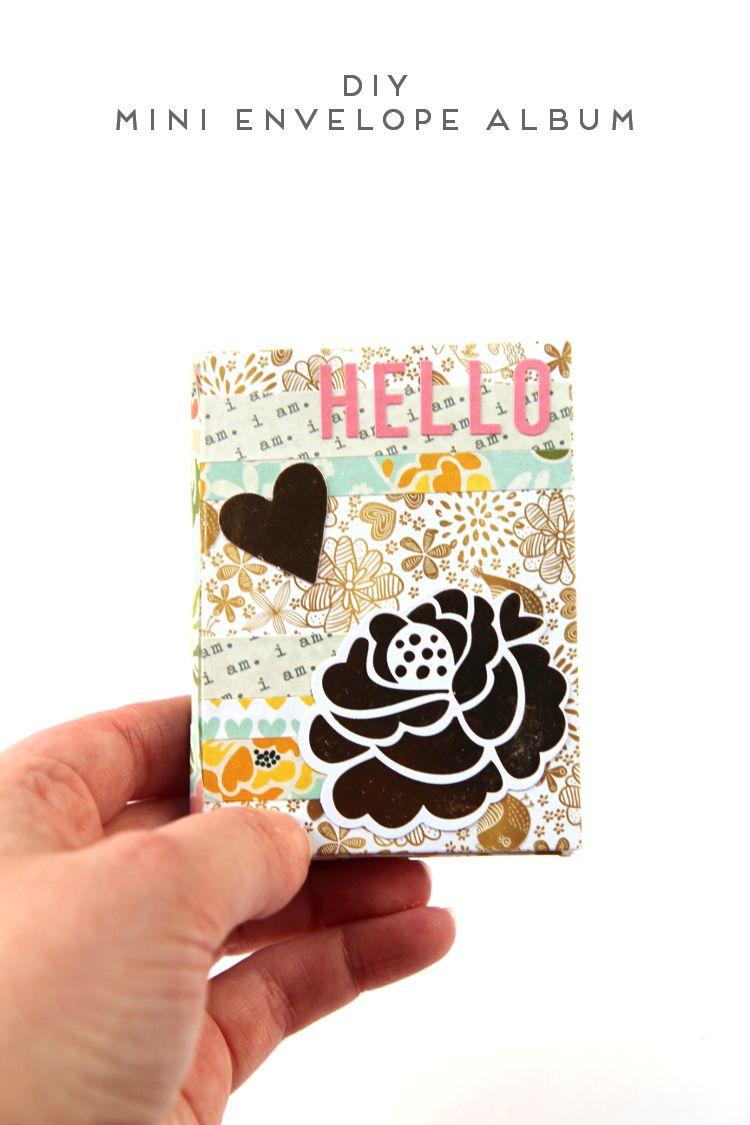 Diy mini envelope album mini envelope album envelopes and minis diy mini envelope album solutioingenieria Gallery
