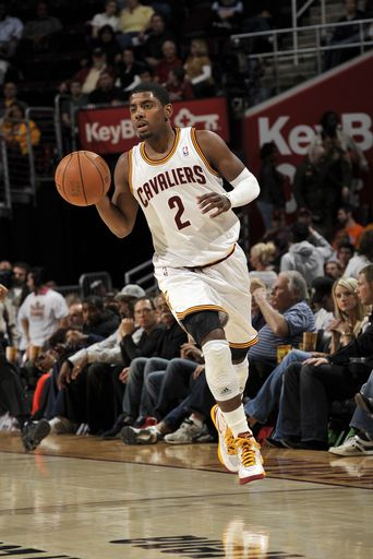factory price 138c8 7db0d Kyrie Irving #2 Of The Cleveland Cavaliers He's the one with ...