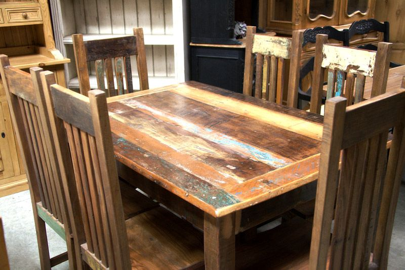 Reclaimed Wood Trunk Ap650 Wood Dining Room Table Dining Room Table Reclaimed Wood Furniture
