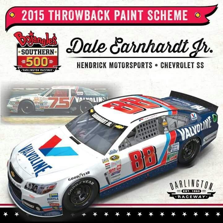 Nascar Crash Wallpaper: Retro Rundown: Throwback Paint Schemes For The Southern