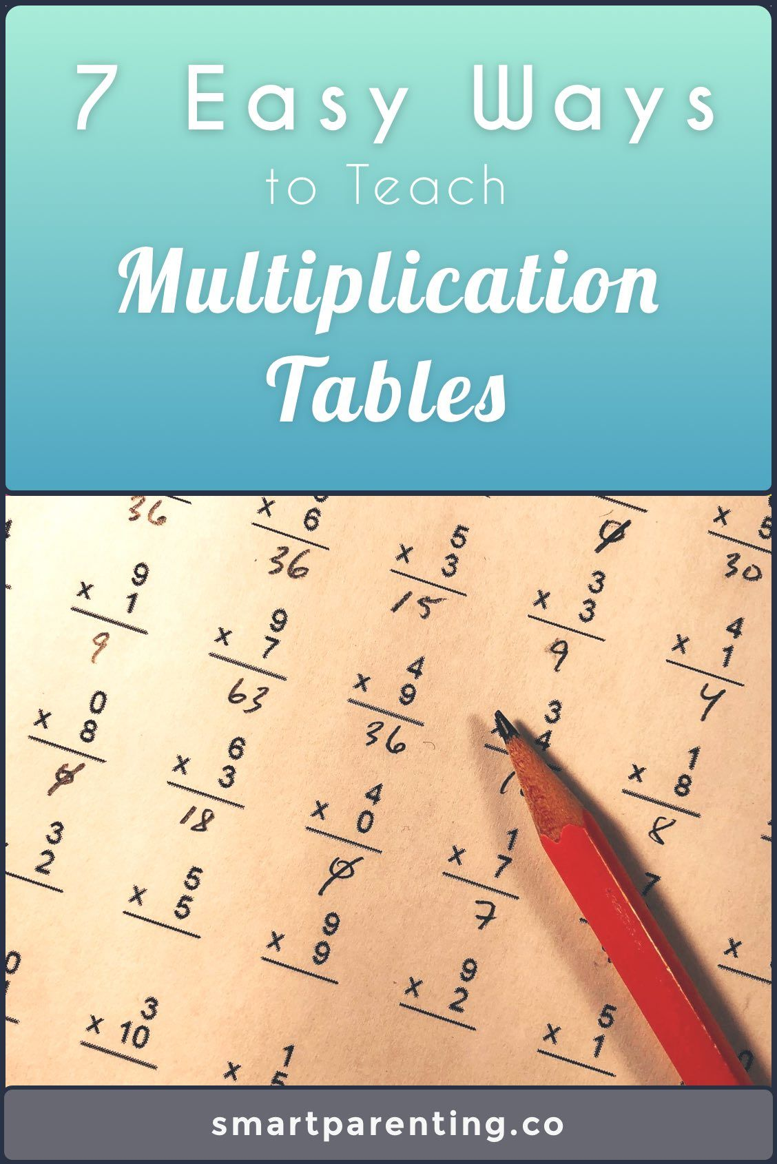 Learning Multiplication Is A Critical Milestone For Every Child
