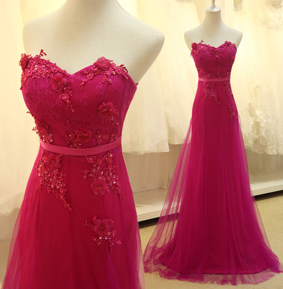 Hot pink homecoming dress  Pin by Brisa Hernández on brisa  Pinterest  Prom Lace prom