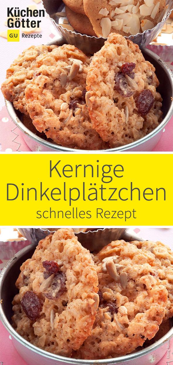 Photo of Schnell kernige Dinkelplätzchen