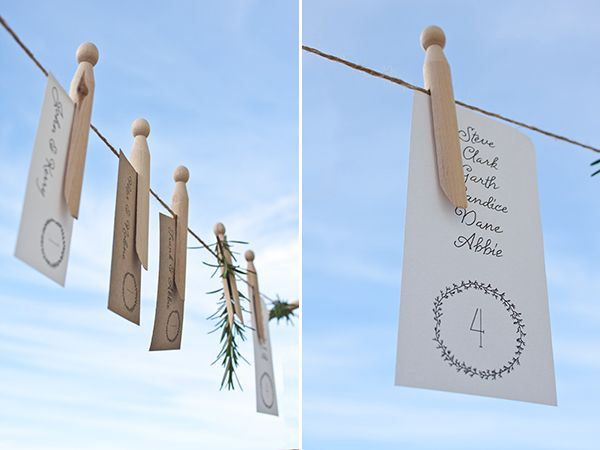 Free printable: simple wreath escort cards   Limn & Lovely