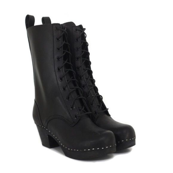 Swedish Hasbeens lace up boots Amazing pair of Swedish Hasbeens 858 Lace up boots like new no dust bag Swedish Hasbeens Shoes