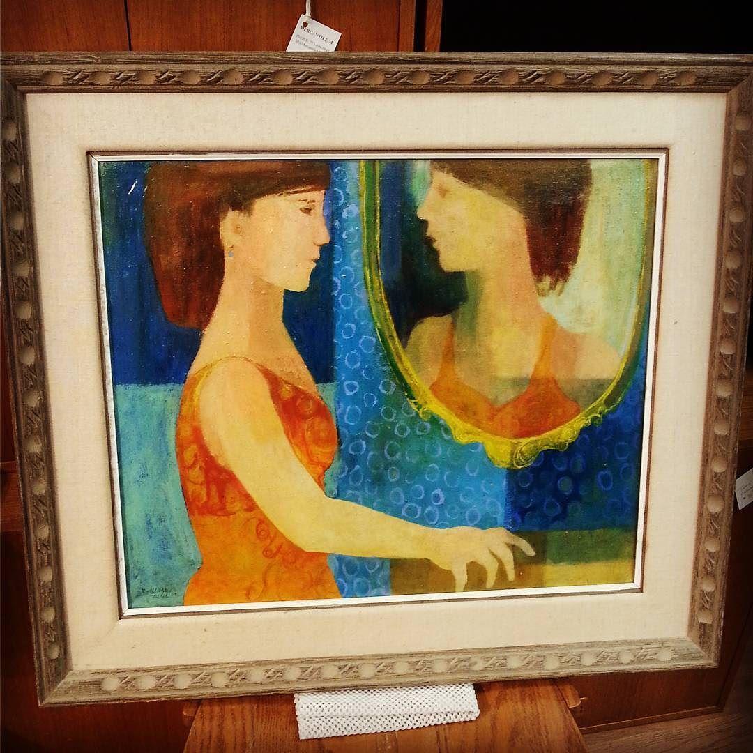 Rosemary Zwick Oil on Canvas $145  #mercantile_m #MercantileM #Andersonville #rosemaryzwick