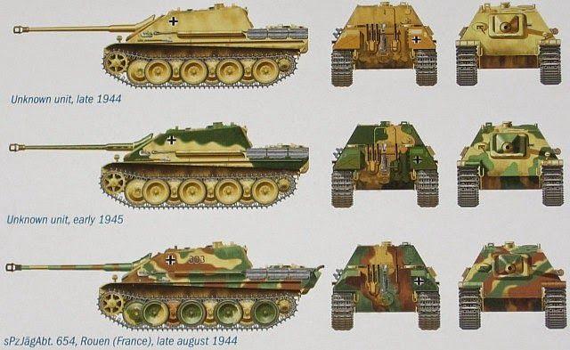 Panther panzerjäger   jagpanther   Pinterest   Segunda guerra ...