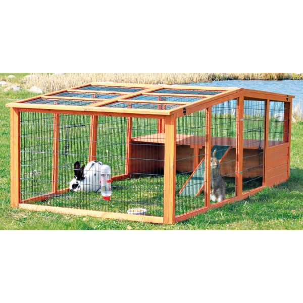 Trixie Enclosed Small Pet Outdoor Run Outdoor Rabbit Run Bunny Cages Small Pets