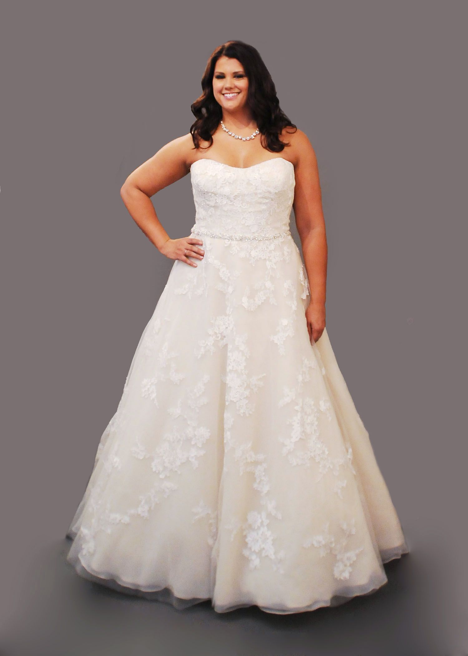 Curvy bride plus size wedding dress plus size fashion curvy curvy bride plus size wedding dress plus size fashion curvy wedding gown ombrellifo Choice Image