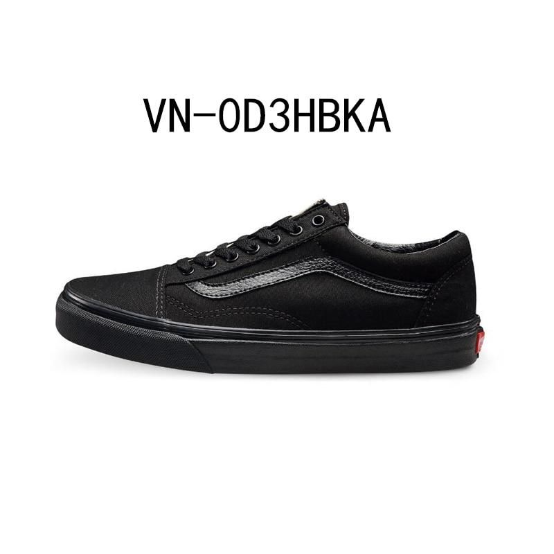 Original New Arrival Vans Men s   Women s Classic Old Skool Low-top  Skateboarding Shoes Canvas 312fc715d2be