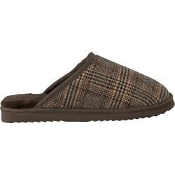 Photo of Warmbat Slippers Classic Check Brown Men's Warmbat
