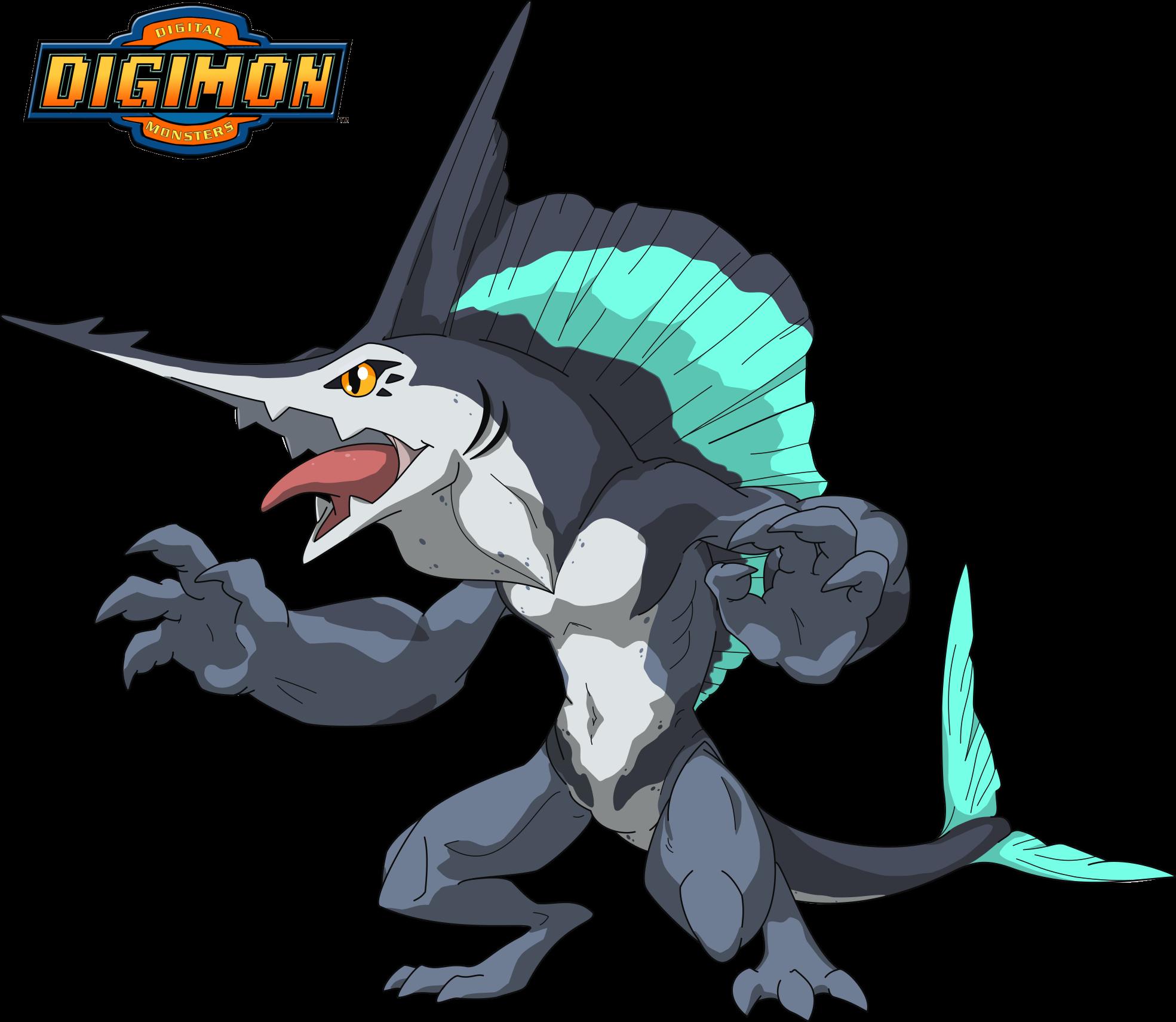 Scalmon Digivolves To.... SAILFIMON !! :D Sailfimon Design