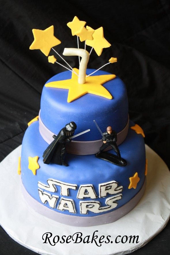 Superb A Star Wars Birthday Cake Recipe For Durable Chocolate Cake Funny Birthday Cards Online Overcheapnameinfo
