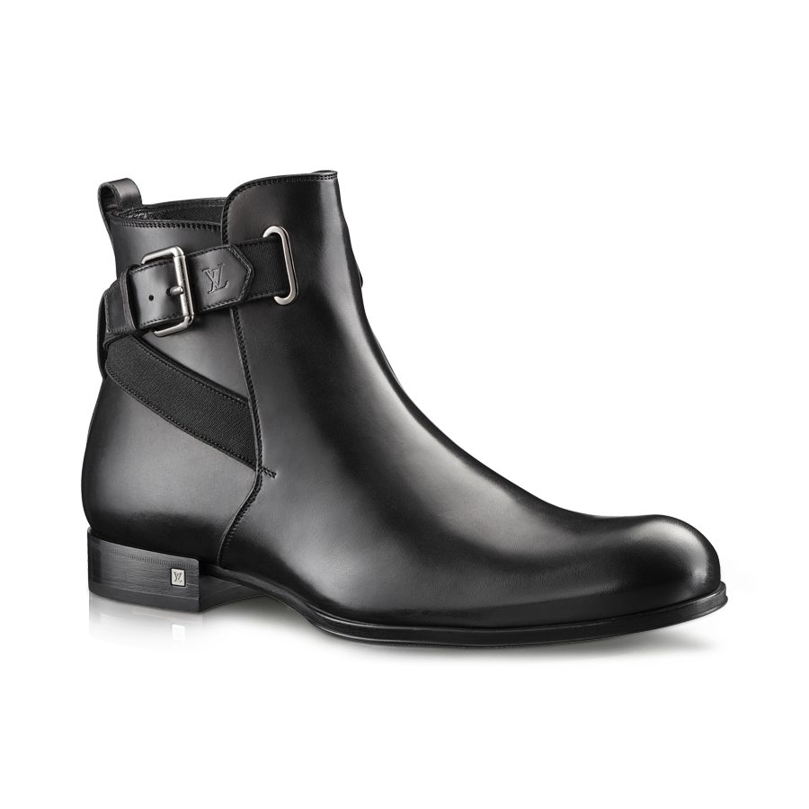 Louis Vuitton Sketch Ankle Boot in Calf Leather from LV Online