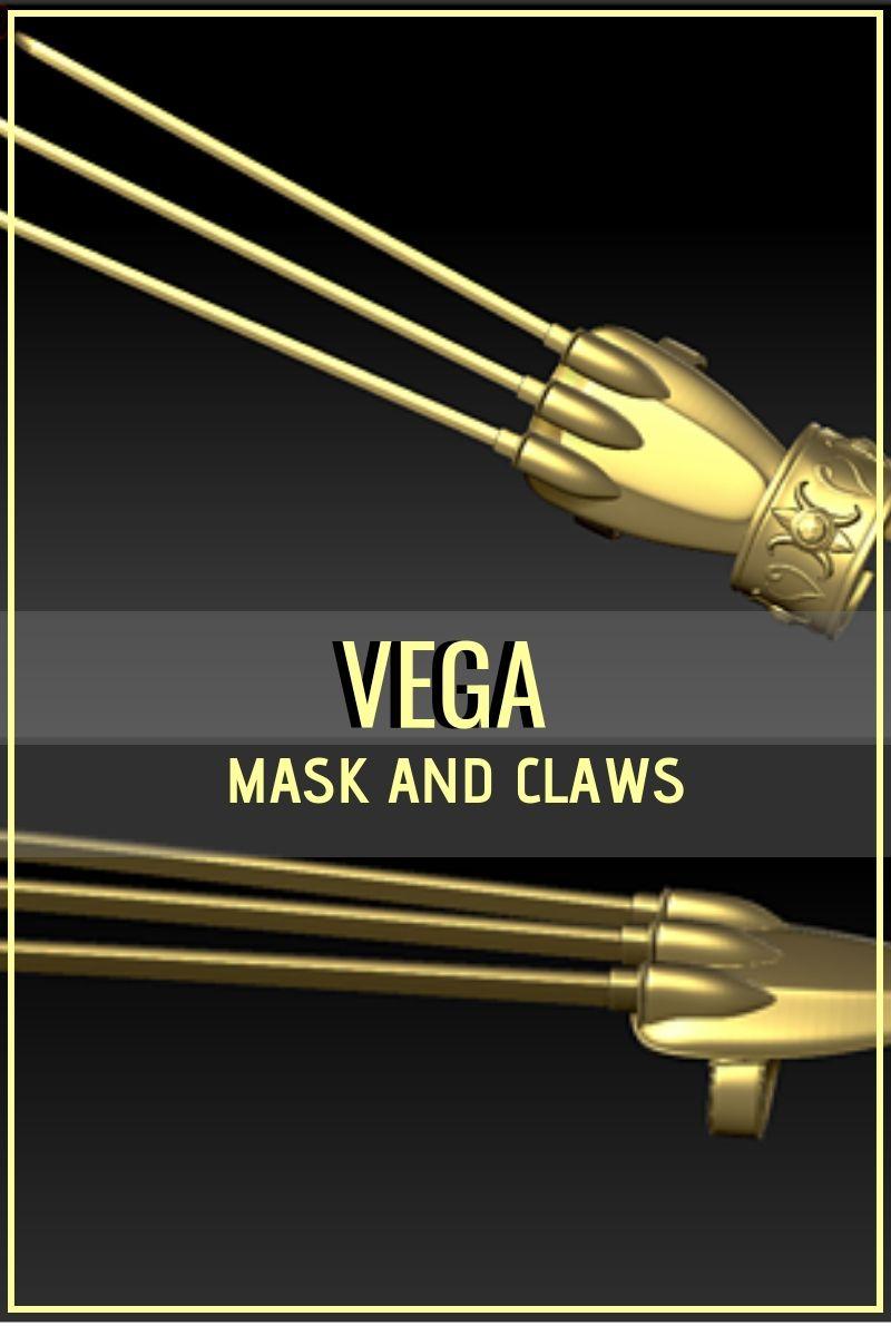 street fighter vega weapon