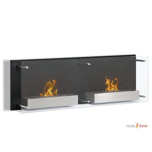 High Quality Moda Flame Faro Wall Mounted Bio Ethanol Ventless Fireplace   Fire Pit Ideas