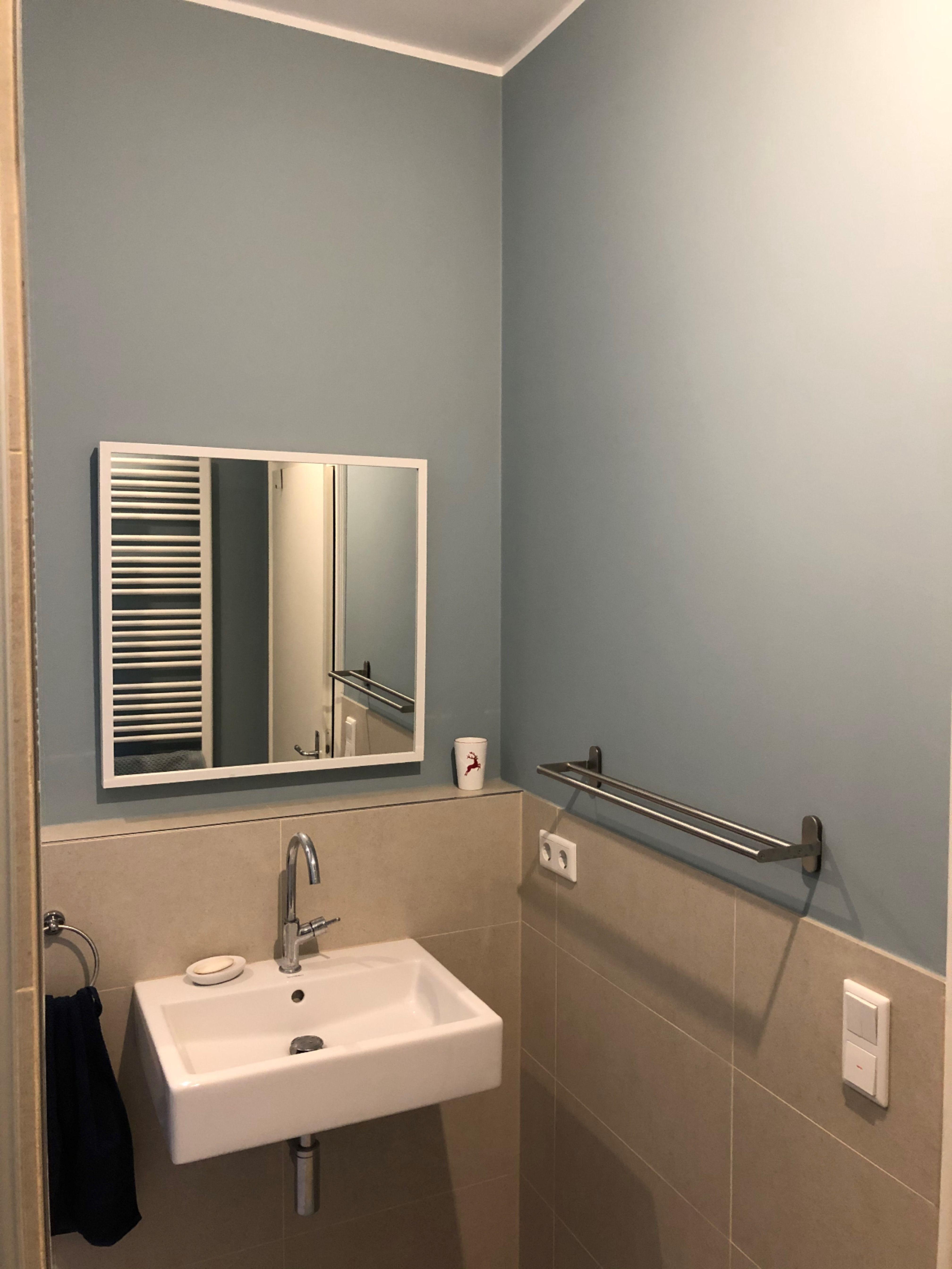 Niagara 055 In 2020 Badezimmer Farben Blaue Wand Kreidefarbe