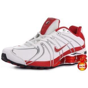 www.asneakers4u.com Mens Nike Shox OZ White Red Black  39915f85d