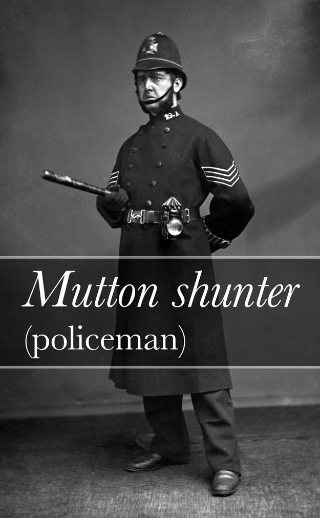 A Dictionary of Victorian Slang (1909) | Police, Security