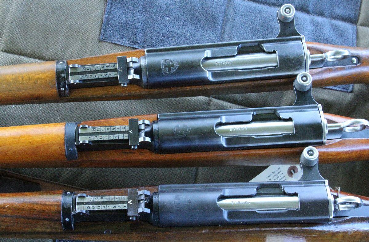 K31 Schmidt Rubin Swiss Battle Rifle See The Swiss Crest
