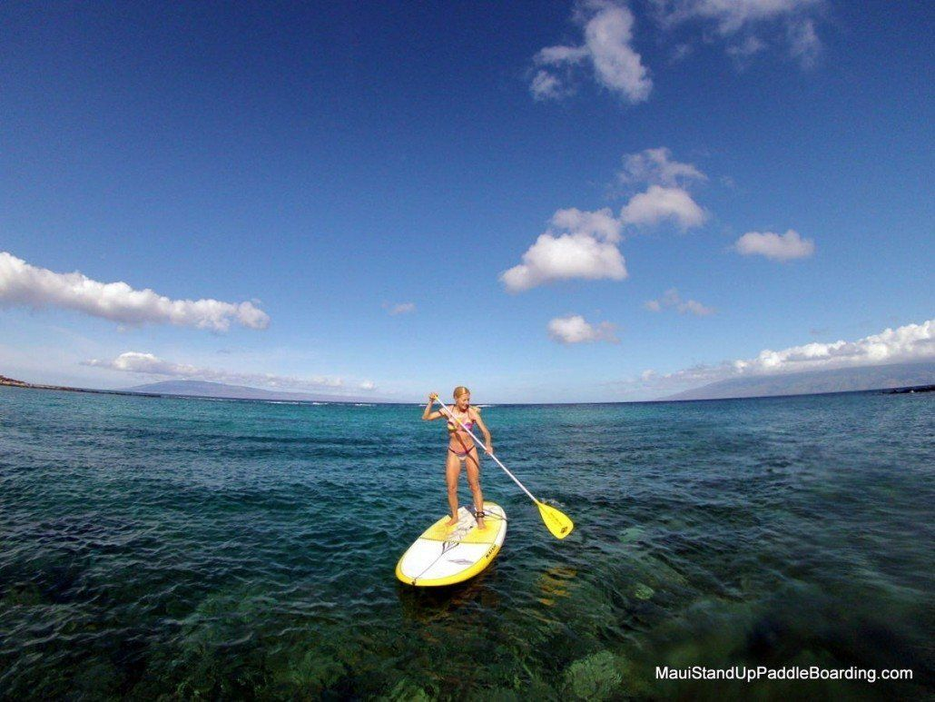Maui stand up paddle boarding lessons tours rental