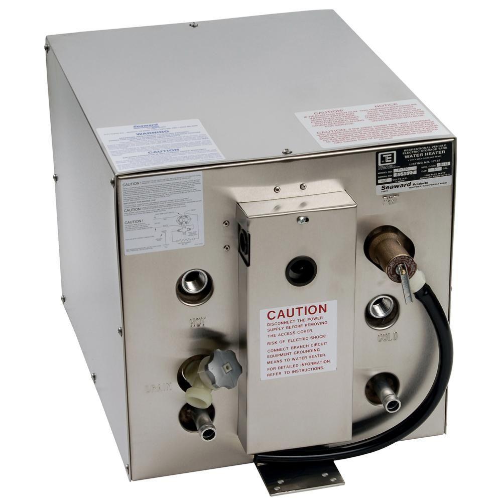 Whale Seaward 6 Gallon Hot Water Heater W Front Heat Exchanger Stainless Steel 120v 1500w F700 Heat Exchanger